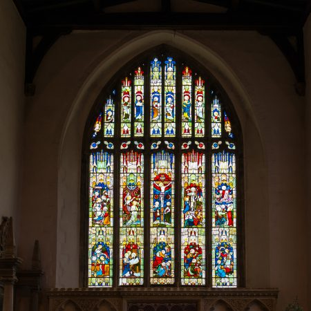 East Chancel window