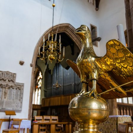 Brass Lectern dated before The Reformation