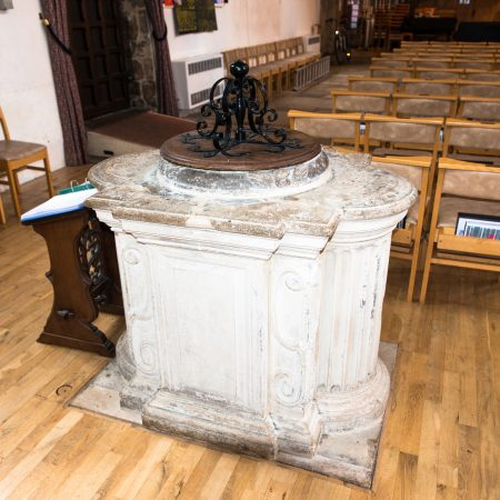 The Font dating from early 18th century