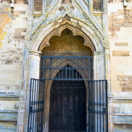 Gates to West Porch