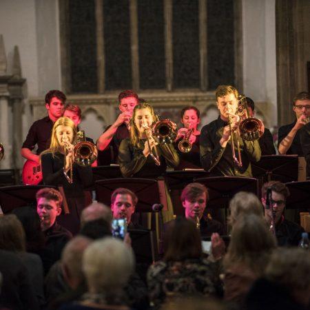 Oundle Church A blast of Trombones from OSJO1