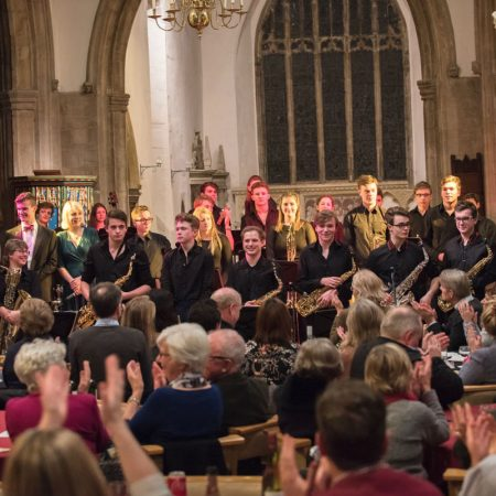 Oundle Church All over and everyone has had a great evening.