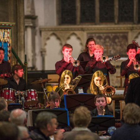 Oundle Church OSJO2 conducted by David Milsted ( this is the younger band)
